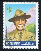 Baden Powell — Foto de Stock
