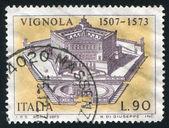 Palazzo Farnese in Caprarola — Stock Photo
