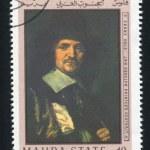 Постер, плакат: Jan Asselyn Painter Portrait by Franz Hals