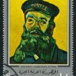 Постер, плакат: Postman Joseph Roulin by Van Gogh