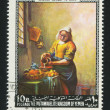 Stock Photo: Milkmaid by Vermeer