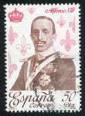 Alfonso XIII — Stock Photo
