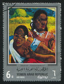 Quand te maries tu by Gauguin — Stock Photo