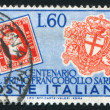 Sardinia Stamps — Stock Photo