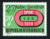 Austrian Sports Pool Emblem — Stock Photo