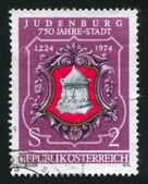 Seal of Judenburg — Stock Photo
