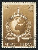 INTERPOL Emblem — Stock Photo