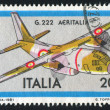 Aeritalia Transport Plane — Stock Photo