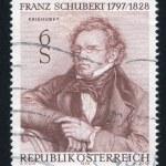 Постер, плакат: Franz Schubert by Josef Kriehuber