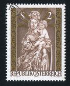 Virgen y el niño — Foto de Stock