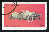 Silver Ghost Auto — Stock Photo