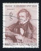 Franz Schubert by Josef Kriehuber — Stock Photo