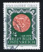 Seal of Graz — Stock Photo