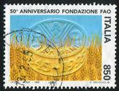 FAO emblem — Stock Photo