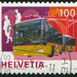 Stamp Bus - Stockfoto