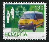 Minibus — Stockfoto