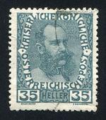Franz josef w średnim wieku — Zdjęcie stockowe