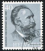Heinrich von Stephan — Foto Stock