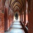 Castle of the Teutonic Order in Malbork - Stock Photo