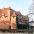 Castle of the Teutonic Order in Malbork - Foto Stock