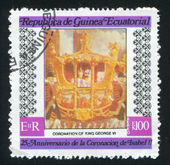 Coronation of King George VI — Stock Photo