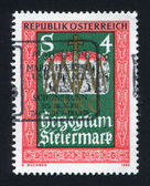 Austria stamp — Stock Photo