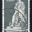 Statue of Lord Byron - Stockfoto