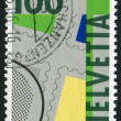 First Swiss postage stamps — Stock Photo #20871089