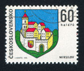 Arms of Mikulov — Stock Photo