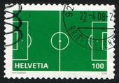 Scheme of Football Playing Field — Foto Stock