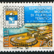 International philatelic exhibition in Genoa — Stock Photo