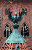 Hrad rytířů v malborku — Stock fotografie