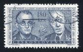 Miloslav Valouch and Juraj Hronec — Stock Photo