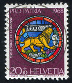 Stamp Leo — Stock Photo