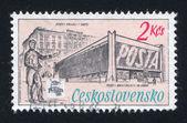 Urzędy pocztowe — Zdjęcie stockowe