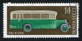 Russian bus — Stock Photo