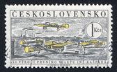 Vliegtuigen — Stockfoto