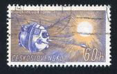 Satellite soviétique soleil — Photo