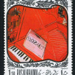 Homage to Mozart by Raoul Dufy — 图库照片