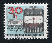 Diesellocomotief — Stockfoto
