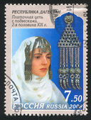 Decorative headdress from Dagestan — Stock Photo