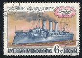 巡洋舰奥恰科夫 — 图库照片