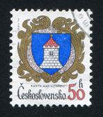 Arms of Kamyk nad Vltavou — Stock Photo