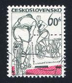 Rowerzystów — Zdjęcie stockowe