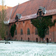 Castle of the Teutonic Order in Malbork — Stock Photo