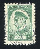 Presidente masaryk — Foto Stock
