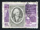 Leonhard Euler — Stockfoto