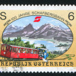 Schafberg railway — Stock Photo
