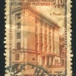 Latvian Academy of Sciences in Riga — Stock Photo #24460967