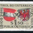 Arms of Austria and Tyrol - Stock Photo